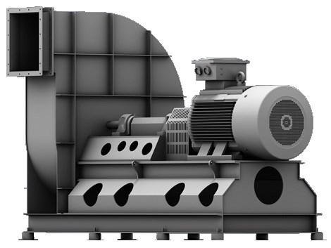 Сверхвысоконапорные вентиляторы Elektror CFXH