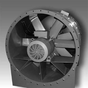 Канальные высоконапорные вентиляторы Elektror HAFC